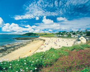 Falmouth Gyllyngvase Beach