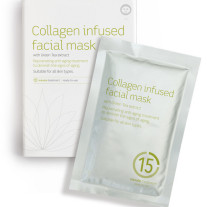 BEAUTYPRO Collagen Infused Facial Mask (Green Tea) FLAT 1