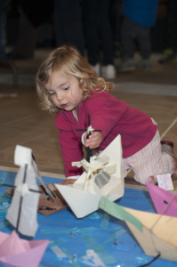 Ship Making family event at the Cutty Sark, Greenwich.