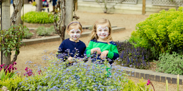 Painted Faces at Easter - Blenheim Palace