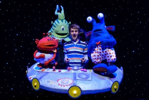 Harrison Spiers in ALIENS LOVE UNDERPANTS (previous West End cast) credit sjsphoto