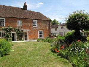 Jane Austens House, Chawton, from the garden 2