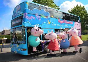 New X24 bus service to Paultons Park and Peppa Pig World