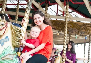 Parents and toddlers take advantage of Drayton Manor's great term time offer