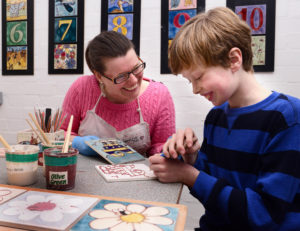 Jackfield Tile Museum half-term tile decorating 28 and 30 May - 4 June