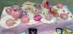 Tea cups by Young Embroiderers