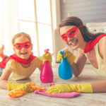 How to Get the Kids Cleaning This Half Term