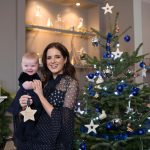 Binky Felstead wishes on a star for her baby India to launch Aptaclub's Christmas Wishes campaign