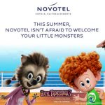 Novotel's Hotel Transylvania 3: A Monster Vacation offer