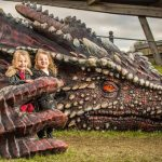 Make a flying visit to Wales and meet a dragon close-up